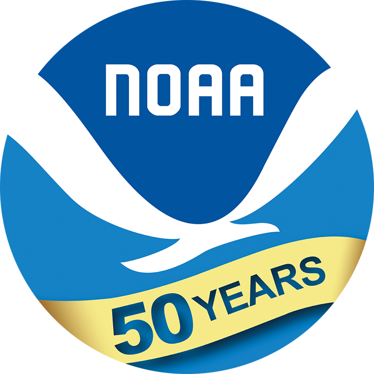 NOAA 50th Anniversary Logo