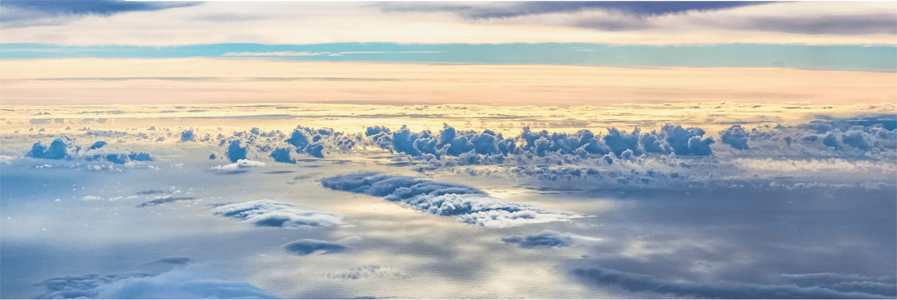 Clouds from a NASA DC-8 aircraft
