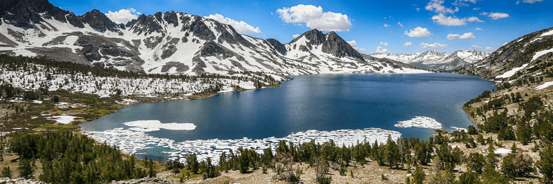 Duck Lake, Mammoth, California.